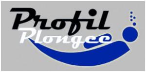 Logo profil plongée
