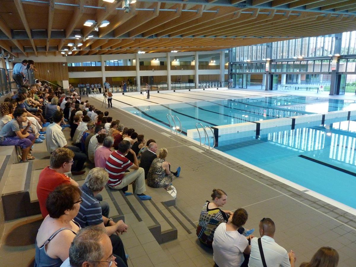 Inauguration de la piscine d annemasse et de nouveaux for Club piscine lafontaine