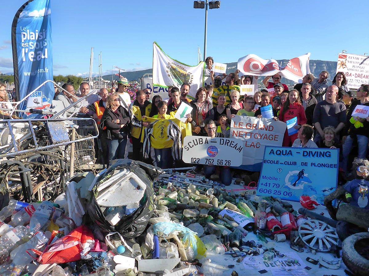 2015-09-20 AQU-DIVING Nettoyage du lac