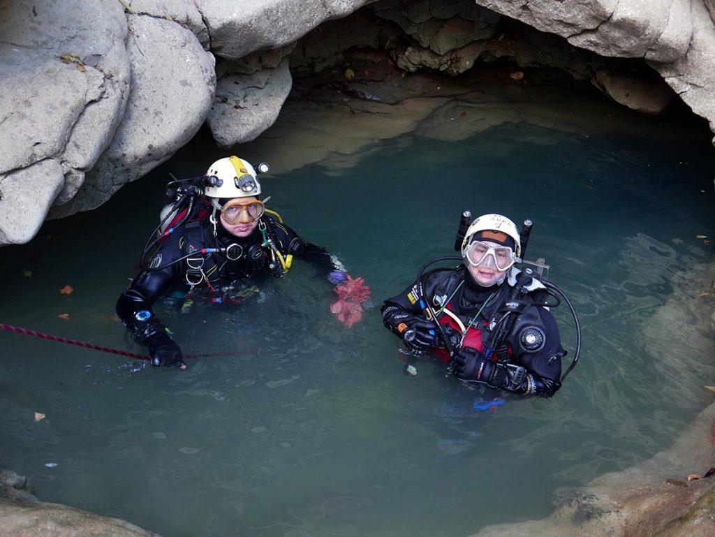 Plongée souterraine @ Bourg-Saint-Andéol | Auvergne-Rhône-Alpes | France
