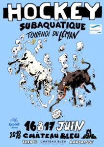 Tournoi International du Léman de Hockey Subaquatique 2018 @ Centre Aquatique Château Bleu | Annemasse | Auvergne-Rhône-Alpes | France