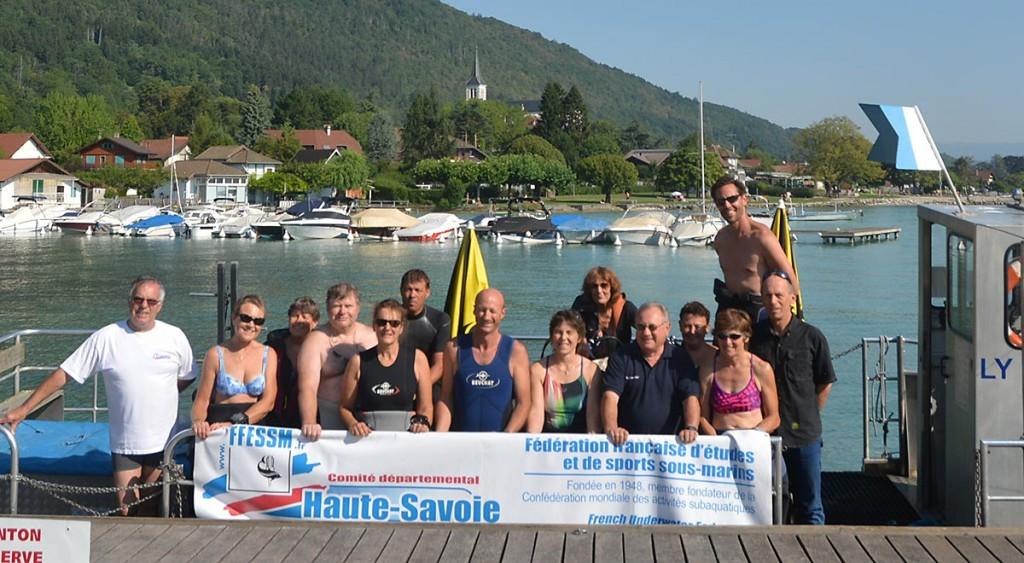 Biologie du lac d'Annecy @ La coulée douce SEVRIER